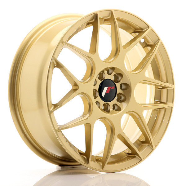 JR Wheels JR18 17x7 ET40 5x100/114 Gold