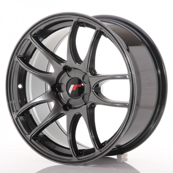 JR Wheels JR29 17x8 ET20-38 5H BLANK Hyper Black