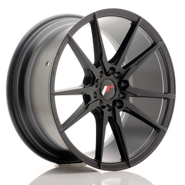 JR Wheels JR21 18x8,5 ET40 5x112/114 Matt Black