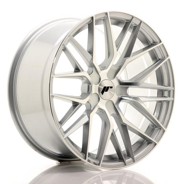 JR Wheels JR28 19x9,5 ET35-40 5H BLANK Silver Machined Face