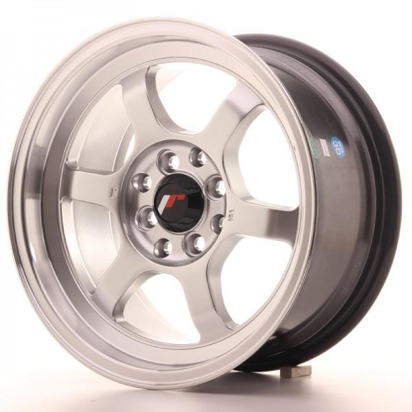 JR Wheels JR12 15x7,5 ET26 4x100/108 Hyper Silver w/Machined Lip