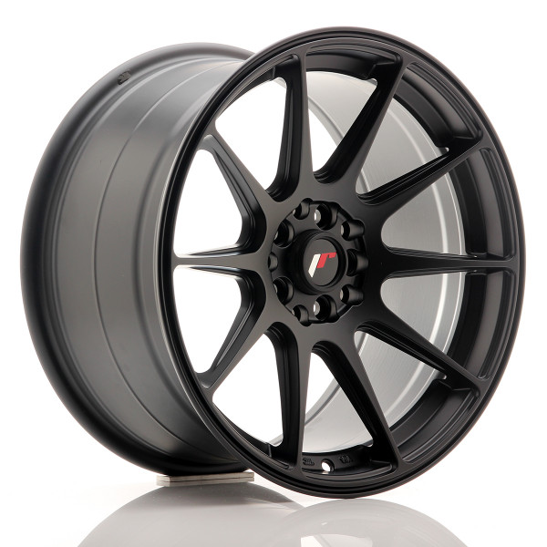 JR Wheels JR11 17x9 ET20 5x100/114 Matt Black