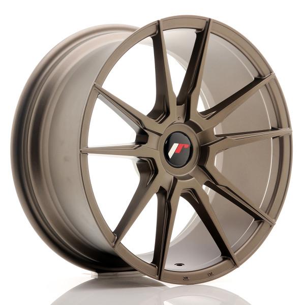 JR Wheels JR21 18x8,5 ET20-40 BLANK Matt Bronze