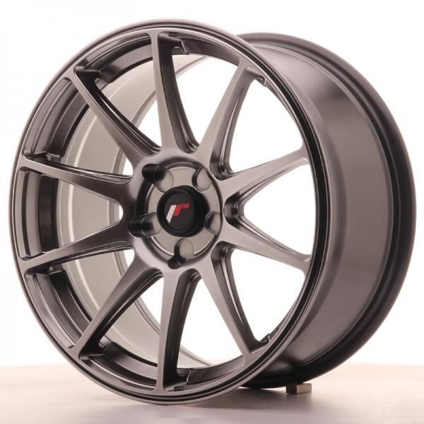 JR Wheels JR11 18x8,5 ET35-40 5H BLANK Dark Hyper Black