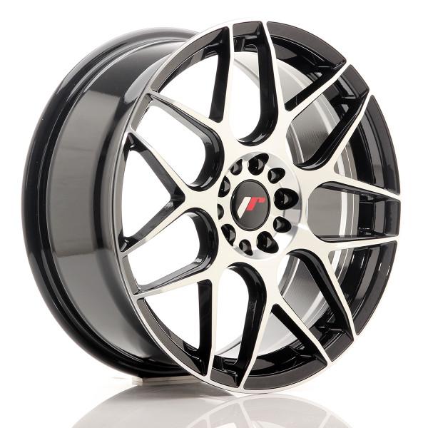 JR Wheels JR18 18x7,5 ET40 5x112/114 Black Mach