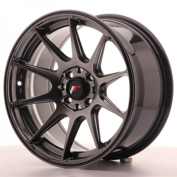 JR Wheels JR11 16x8 ET25 4x100/114 Dark Hyper Black