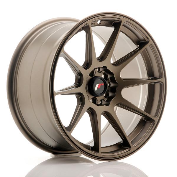 JR Wheels JR11 17x9 ET35 5x100/114 Matt Bronze