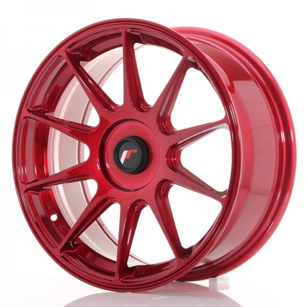 JR Wheels JR11 17x7,25 ET35-40 BLANK Platinum Red