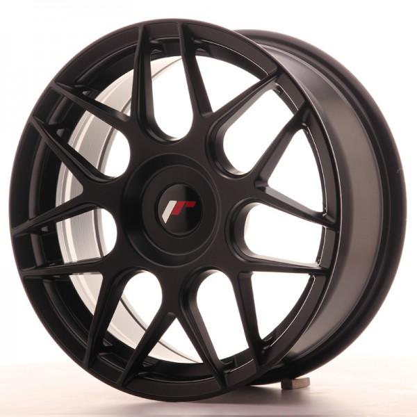JR Wheels JR18 17x7 ET20-40 BLANK Matt Black