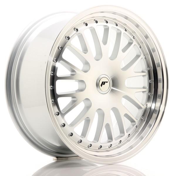 JR Wheels JR10 19x8,5 ET20-35 BLANK Silver Machined Face