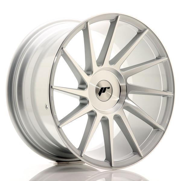 JR Wheels JR22 18x9,5 ET20-40 BLANK Silver Machined