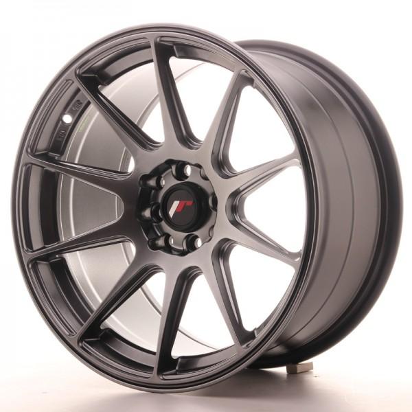 JR Wheels JR11 17x9 ET25 4x100/108 Hyper Black