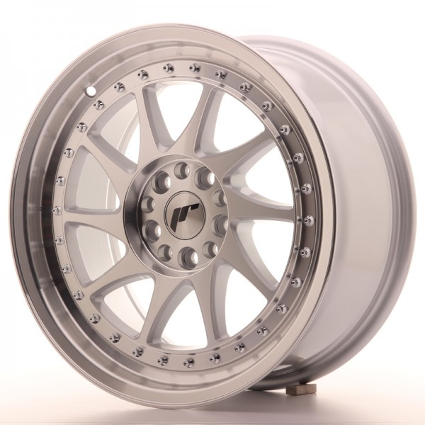 JR Wheels JR26 17x8 ET25 5x114/120 Silver Machined Face