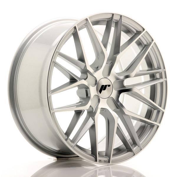 JR Wheels JR28 18x8,5 ET20-40 5H BLANK Silver Machined Face