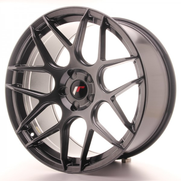 JR Wheels JR18 20x10 ET20-45 5H BLANK Hyper Black