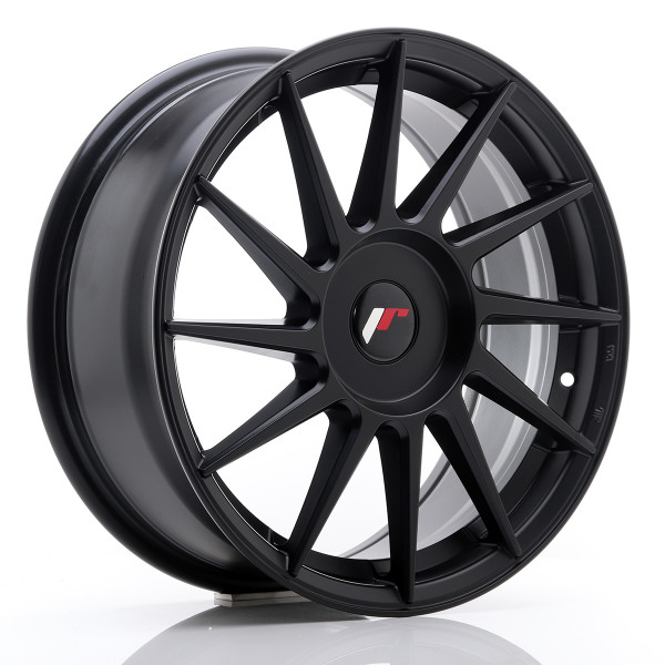 JR Wheels JR22 17x7 ET35-40 BLANK Matt Black