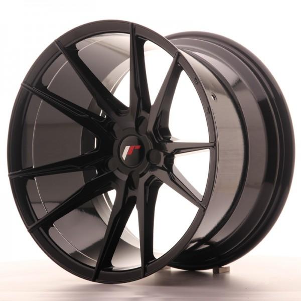 JR Wheels JR21 19x11 ET15-30 5H BLANK Gloss Black