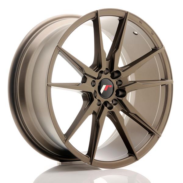JR Wheels JR21 19x8,5 ET40 5x112/114 Matt Bronze