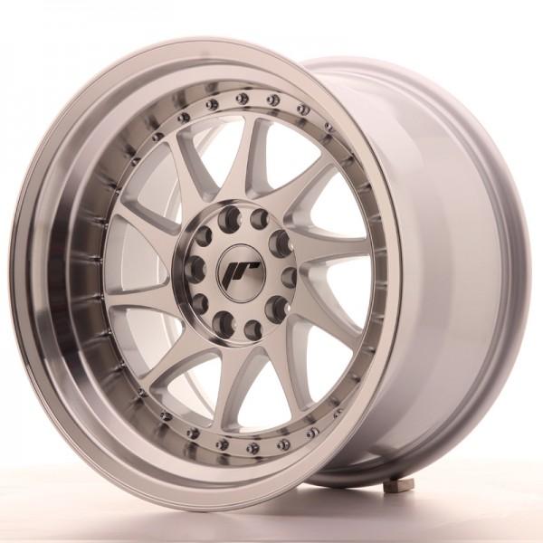 JR Wheels JR26 17x10 ET20 5x114/120 Silver Machined Face