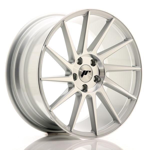JR Wheels JR22 18x8,5 ET40 5x112 Silver Machined Face