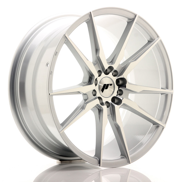 JR Wheels JR21 19x8,5 ET40 5x112 Silver Machined Face