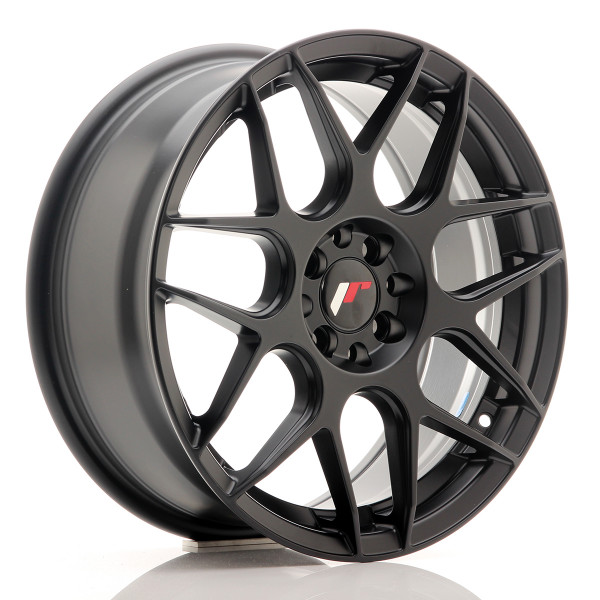 JR Wheels JR18 17x7 ET40 4x100/114 Matt Black