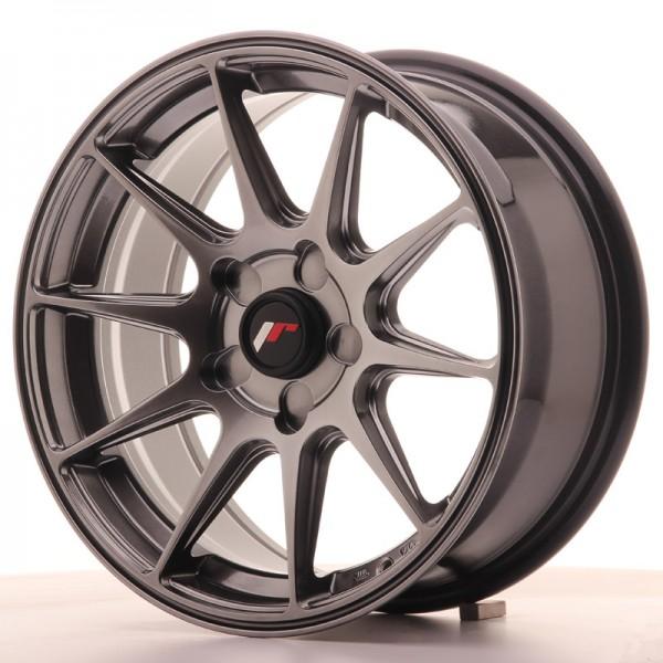 JR Wheels JR11 16x7 ET30 5H BLANK Dark Hyper Black