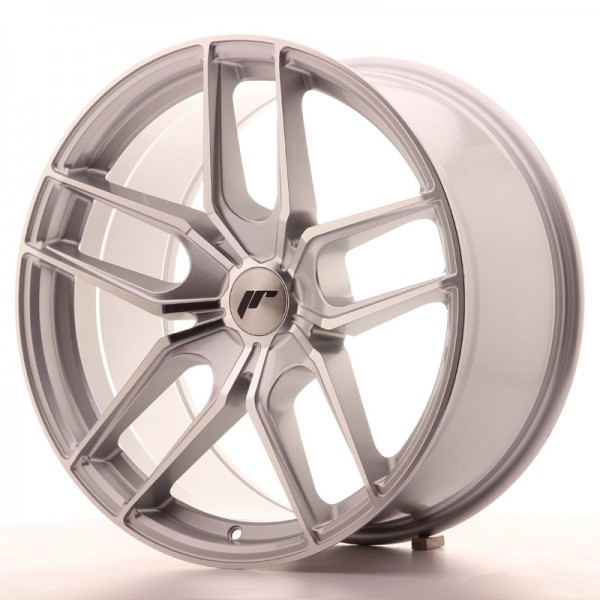 Japan Racing JR25 19x9,5 ET40 5H Blank Silver
