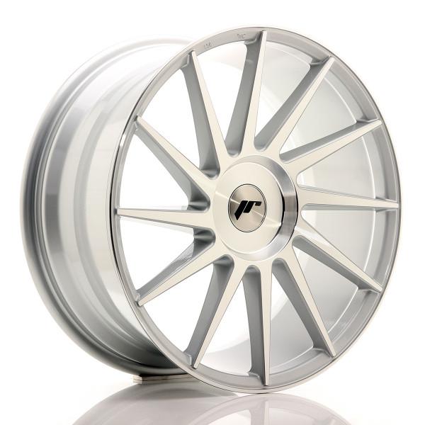 JR Wheels JR22 19x8,5 ET35-40 BLANK Silver Machined Face