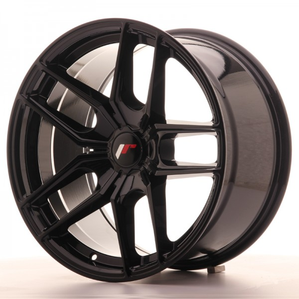 JR Wheels JR25 18x9,5 ET20-40 5H BLANK Gloss Black
