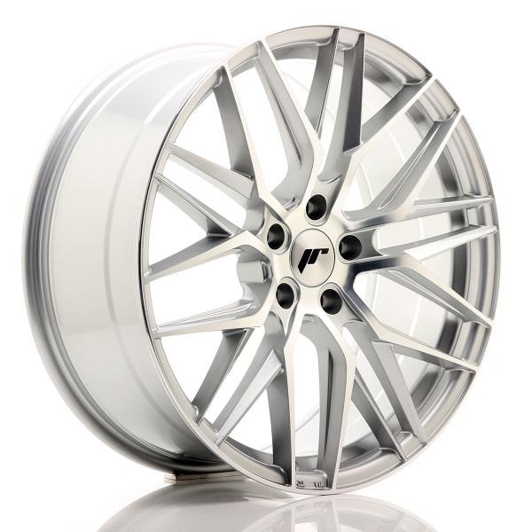 JR Wheels JR28 20x8,5 ET30 5x120 Silver Machined Face