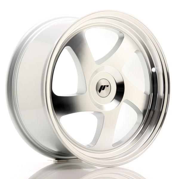 JR Wheels JR15 18x8,5 ET40 BLANK Silver Machined Face