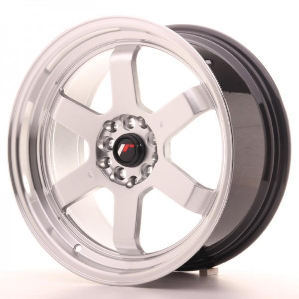 JR Wheels JR12 17x8 ET33 4x100/114 Hyper Silver w/Machined Lip