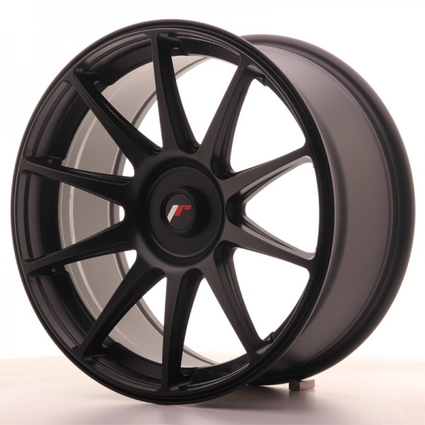 JR Wheels JR11 18x8,5 ET35-40 BLANK Flat Black