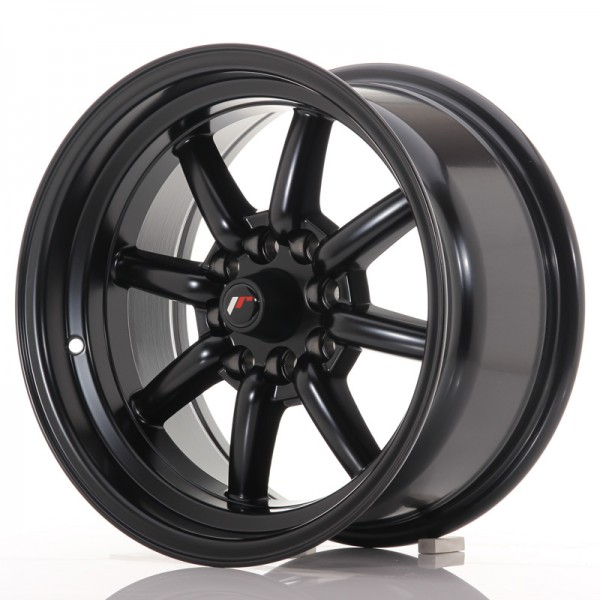 JR Wheels JR19 15x8 ET0 4x100/114 Matt Black