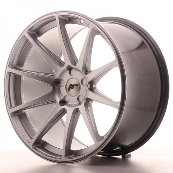 JR Wheels JR11 20x11 ET30-52 5H BLANK Hyper Silver