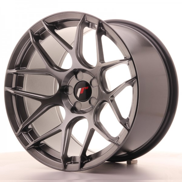 JR Wheels JR18 18x10,5 ET0-25 5H BLANK Hyper Black