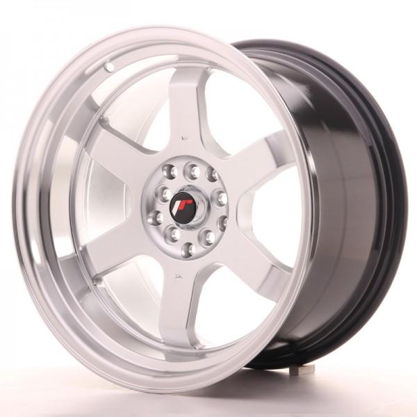 JR Wheels JR12 18x10 ET0 5x114,3/120 Hyper Silver w/Machined Lip