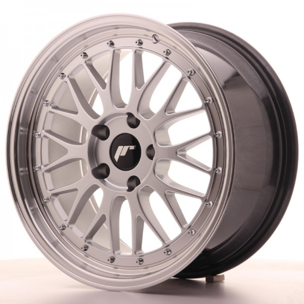 JR Wheels JR23 18x8,5 ET35 5x100 Hyper Silver w/Machined Lip