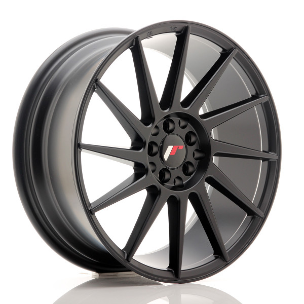 JR Wheels JR22 18x7,5 ET35 5x100/120 Matt Black