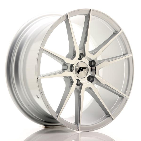 JR Wheels JR21 18x8,5 ET40 5x112/114 Silver Machined Face