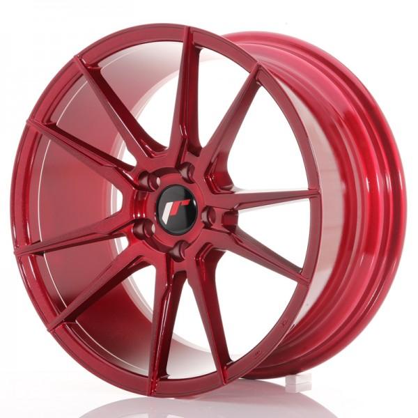 JR Wheels JR21 18x8,5 ET40 5x112 Platinum Red