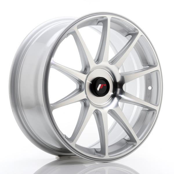JR Wheels JR11 18x7,5 ET35-40 Blank Silver Machined