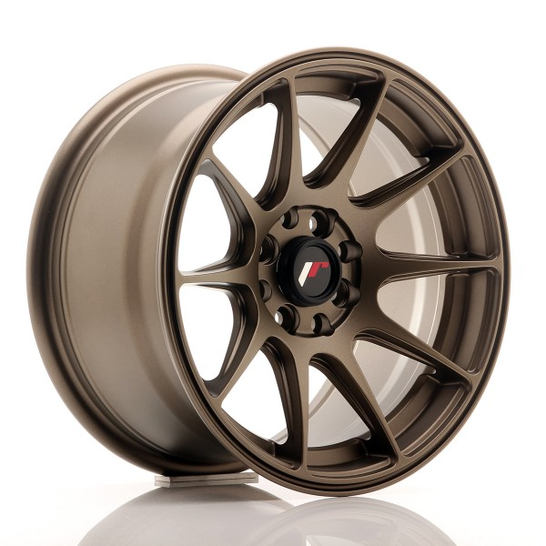 JR Wheels JR11 15x8 ET25 4x100/114 Matt Bronze