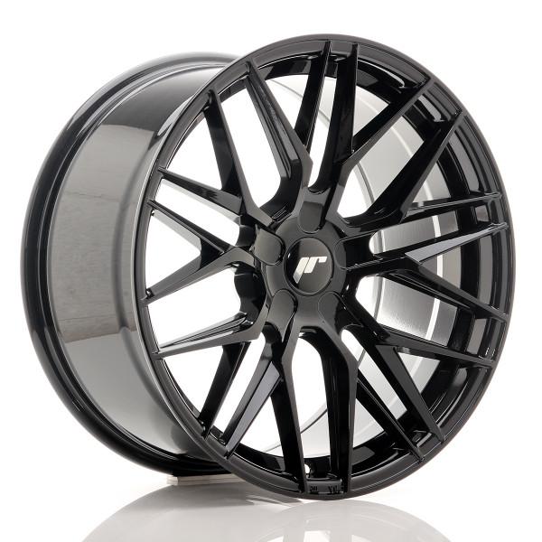 JR Wheels JR28 19x9,5 ET20-40 5H BLANK Gloss Black