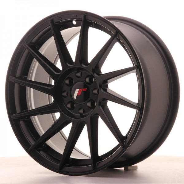 JR Wheels JR22 17x8 ET35 4x100/114 Matt Black