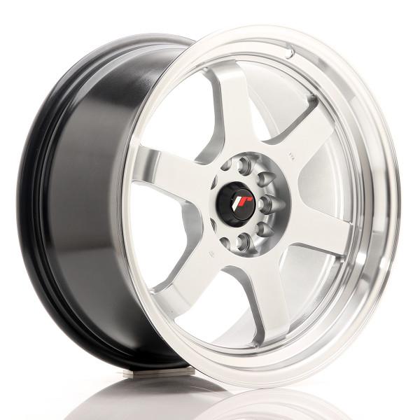 JR Wheels JR12 18x9 ET25 5x114/120 Hyper Silver w/Machined Lip
