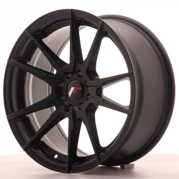JR Wheels JR21 17x8 ET35 5x100/114 Matt Black