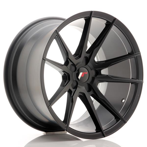 JR Wheels JR21 19x11 ET15-30 5H BLANK Matt Black