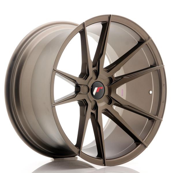 JR Wheels JR21 20x11 ET30-50 5H BLANK Matt Bronze